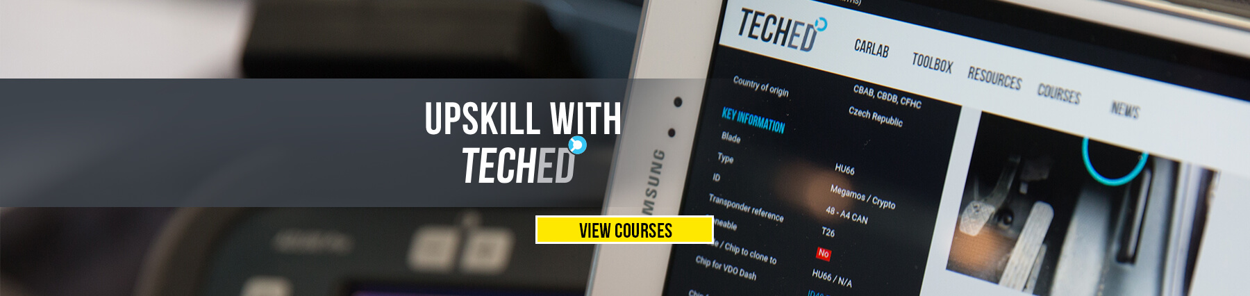 Upskill with TECHED Since 1926